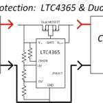Avoid smoke with power protection circuit