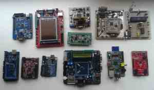 collection of microcontroller boards