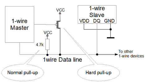 1-wire parasitic power