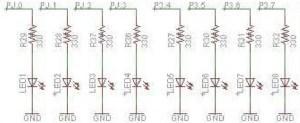 MSP-EXP430FR5739_LEDS