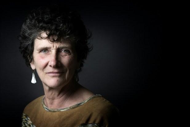 La navigatrice Isabelle Autissier, présidente du WWF France, le 29 septembre 2015 à Paris (AFP/Archives - JOEL SAGET)
