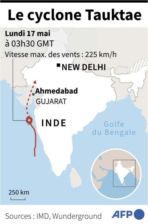 Cyclone Tauktae (AFP -)