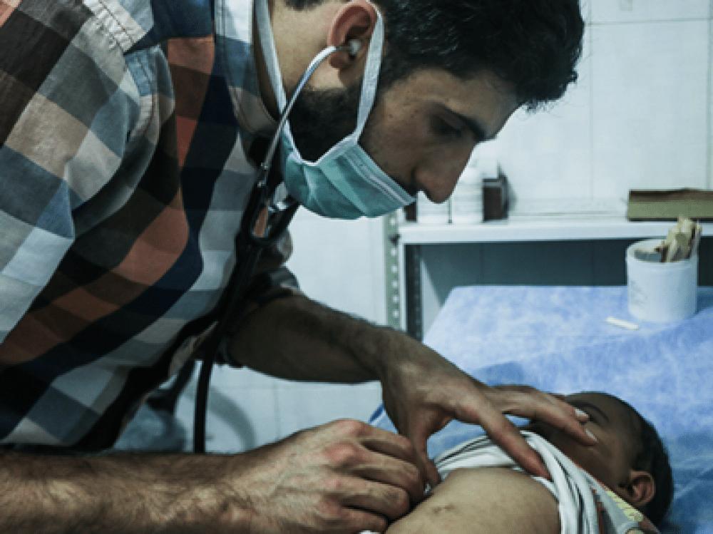 Le personnel soignant en Syrie