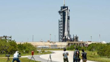 La NASA et SpaceX s'apprêtent à envoyer quatre astronautes vers l'ISS