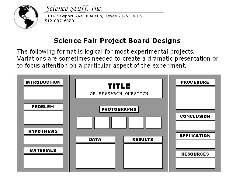 Science Fair Setup Maryland