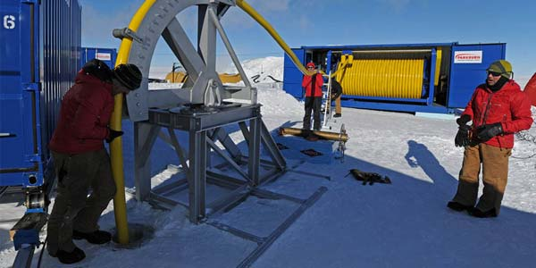 boren op antarctica