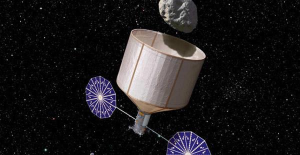 asteroïde vangen