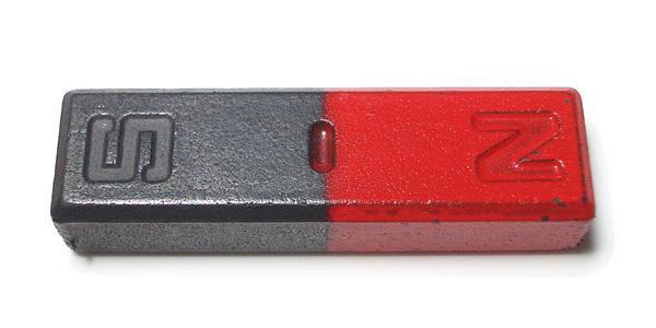 Een magneet: supersterk! Foto: Aney (via Wikimedia Commons).