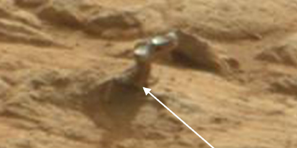 Deurkruk op Mars. Foto: