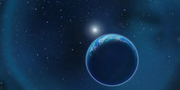witte dwerg en planeet