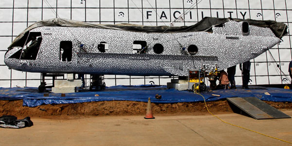 De helikopter. Afbeelding: ASA Langley / David C. Bowman.