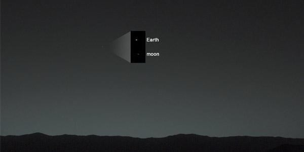 aarde en de maan