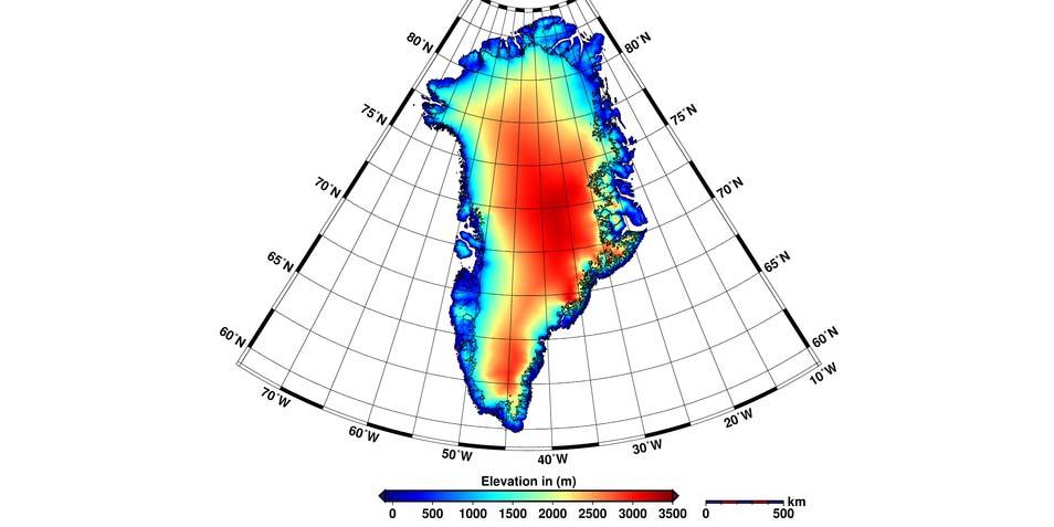 Groenland verliest twee keer zoveel ijs als in 2009