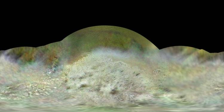 Afbeelding: Dr. Paul Schenk / Lunar and Planetary Institute, Houston, Texas / Voyager 2 (NASA, JPL).