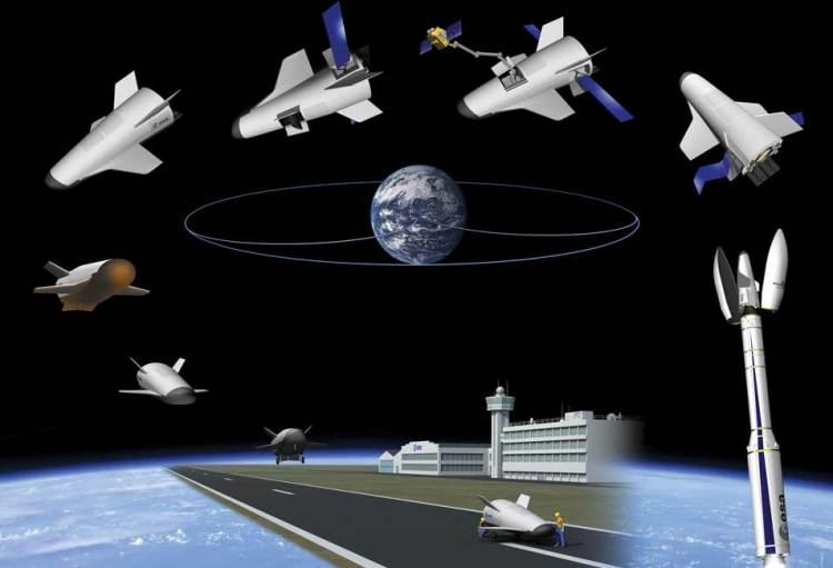 De IXV is het begin van dit scenario. Afbeelding: ESA / J. Huart.