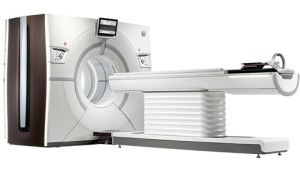 De Revolution CT-scanner.