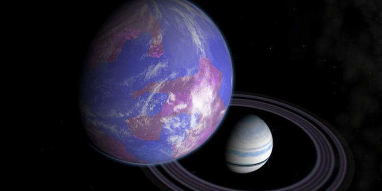 Zijn er buiten ons zonnestelsel misschien Jupiter-achtige planeten te vinden met aardachtige manen? Wie weet! Afbeelding: NASA.