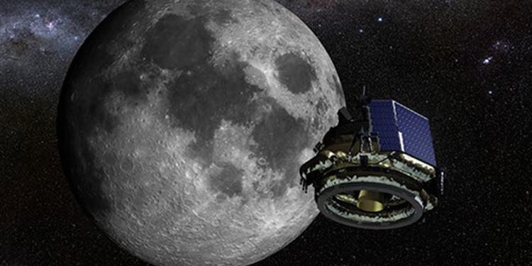De maanlander (MX-1) die Moon Express momenteel test. Afbeelding: Moon Express.