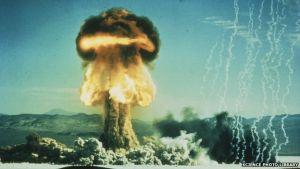 Sommige wetenschappers zien de ontploffing van de eerste atoombom als de start van het Antropoceen.