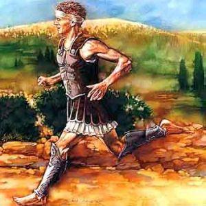 Pheidippides, de allereerste marathonloper