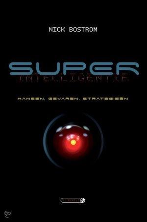 De cover van het boek 'Superintelligentie' van Nick Bostrom.