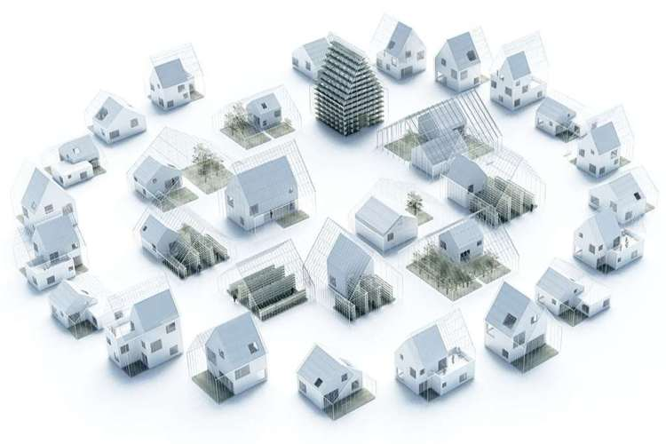 Wat direct opvalt, is dat de huizen omringd worden door glas. Zo wordt volgens Ehrlich de periode in het jaar waarin gewassen verbouwd kunnen worden, verlengd.