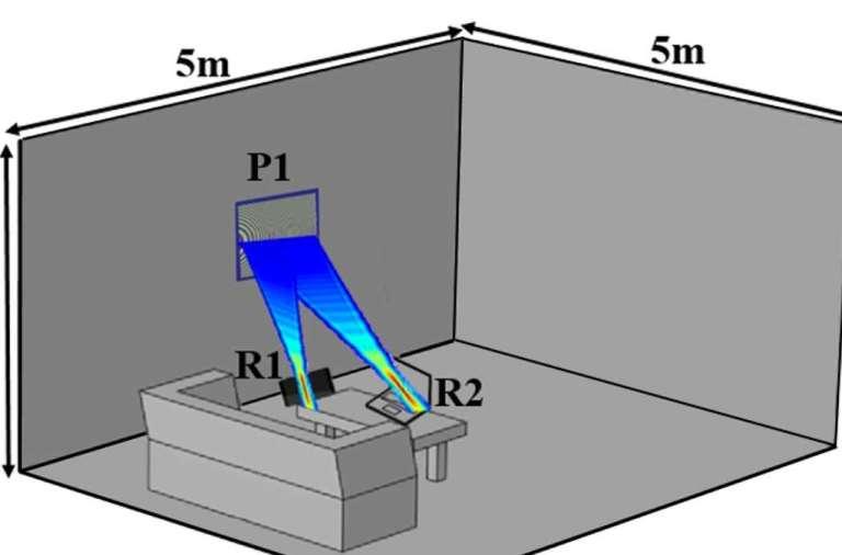 Een schematische weergave van het door de onderzoekers bedachte systeem. Afbeelding: Duke University.