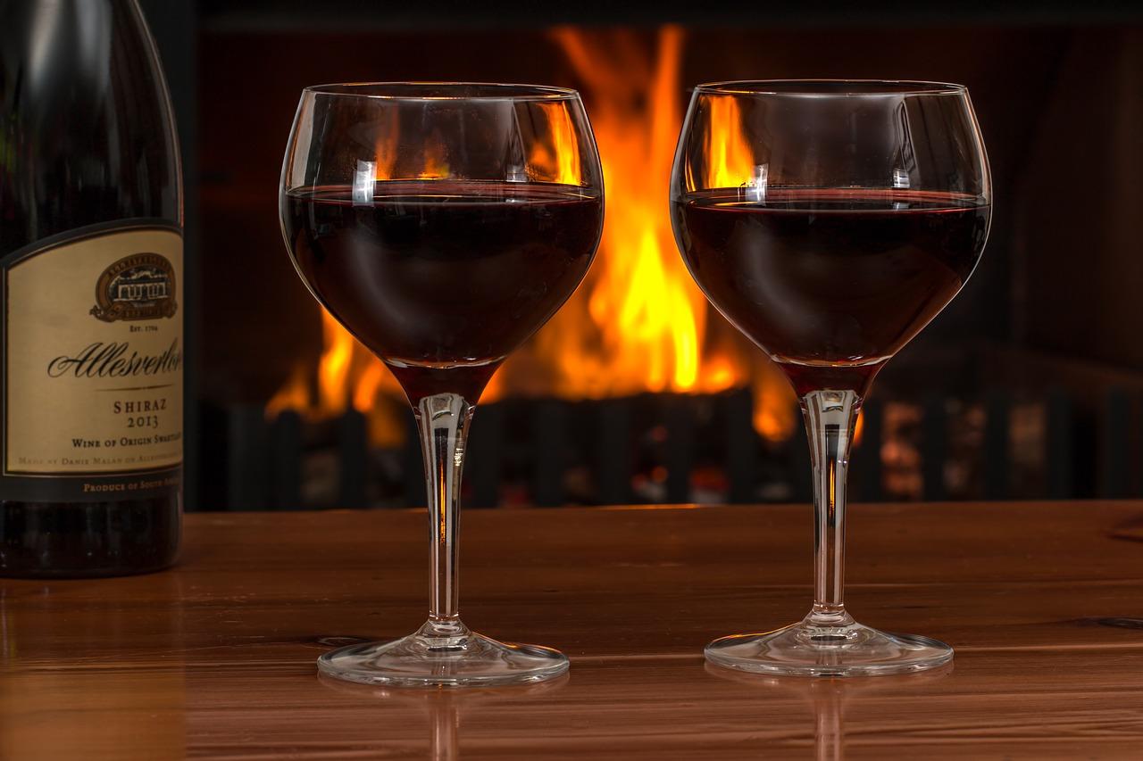 rode wijn goed voor je hart