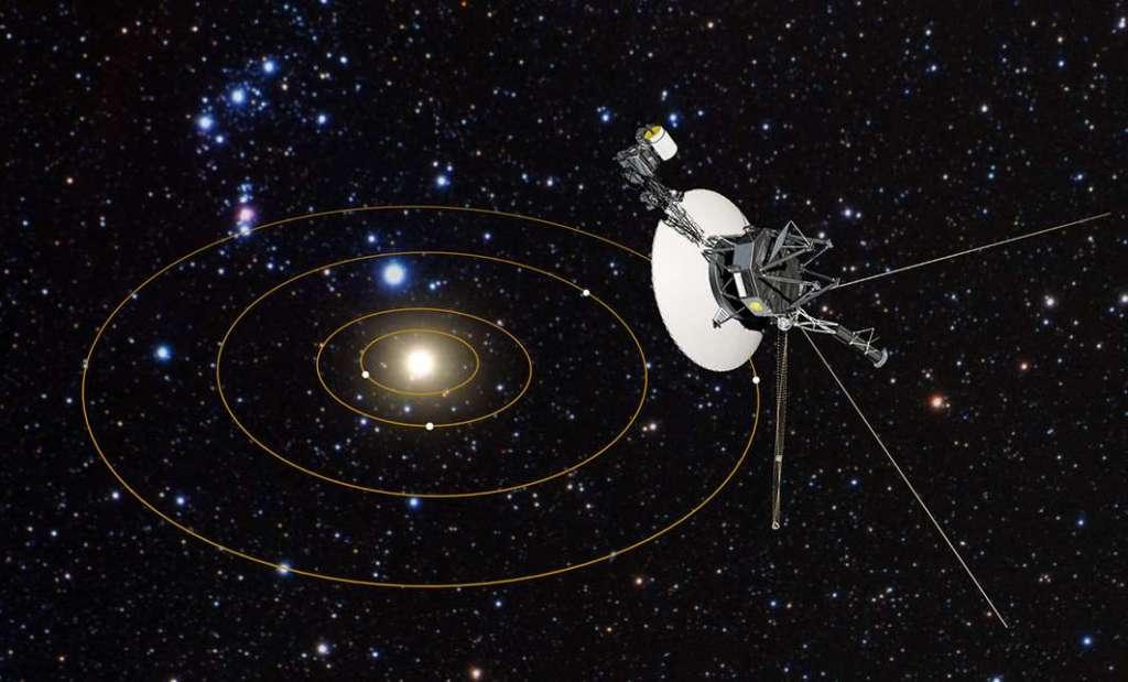 Voyager 1 is vandaag precies veertig jaar onderweg