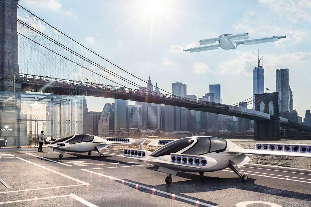 De taxi kan wel eens concurrentie krijgen van dit verticaal opstijgende vliegtuig