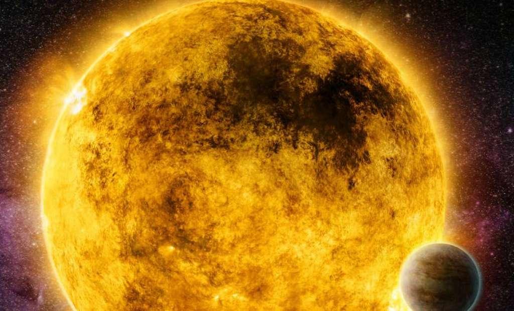 Jonge zonachtige sterren kalmeren na 1 miljard jaar verrassend snel