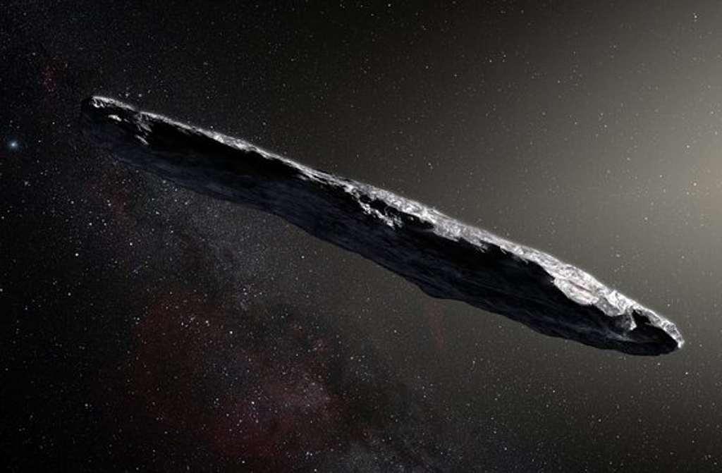 Is 'Oumuamua een door aliens gebouwd ruimteschip?