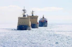 U.S.A. Navy in th Arctic