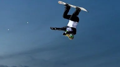 Olympic Big Air Snowboarders Use Physics to Their Advantage