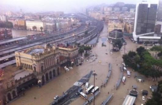Alluvione di Genova, 2014
