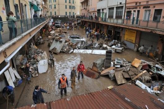 Alluvione di Genova, 2011
