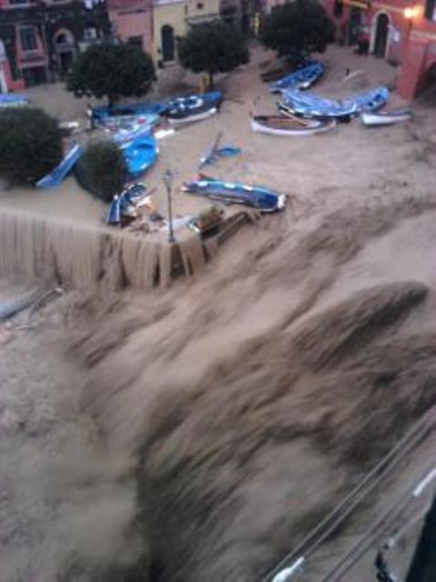 Alluvione delel Cinque Terre, Liguria, 2014