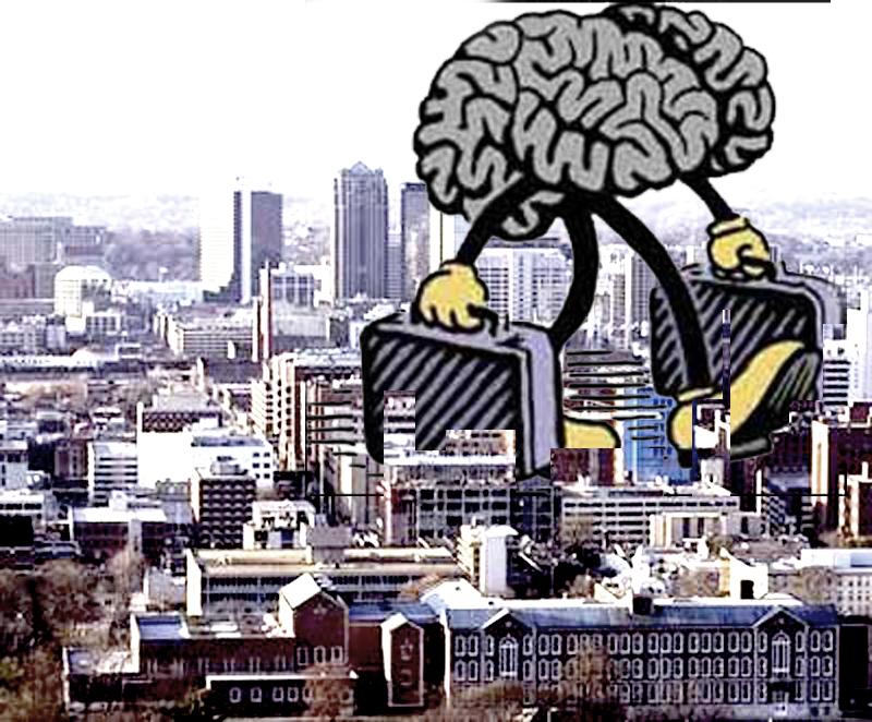Spesso si parla di fuga dei cervelli, tra le cause, sicuramente c'è il migliore trattamento dei precari all'estero (immagine da Flickr).