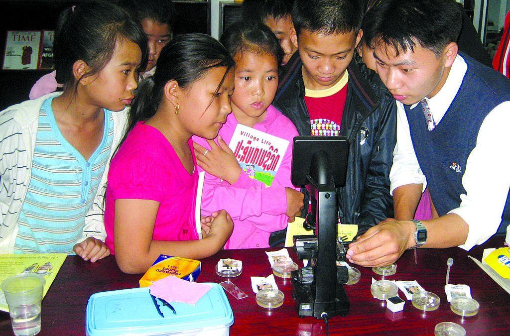 La gioia di imparare e la scienza a scuola