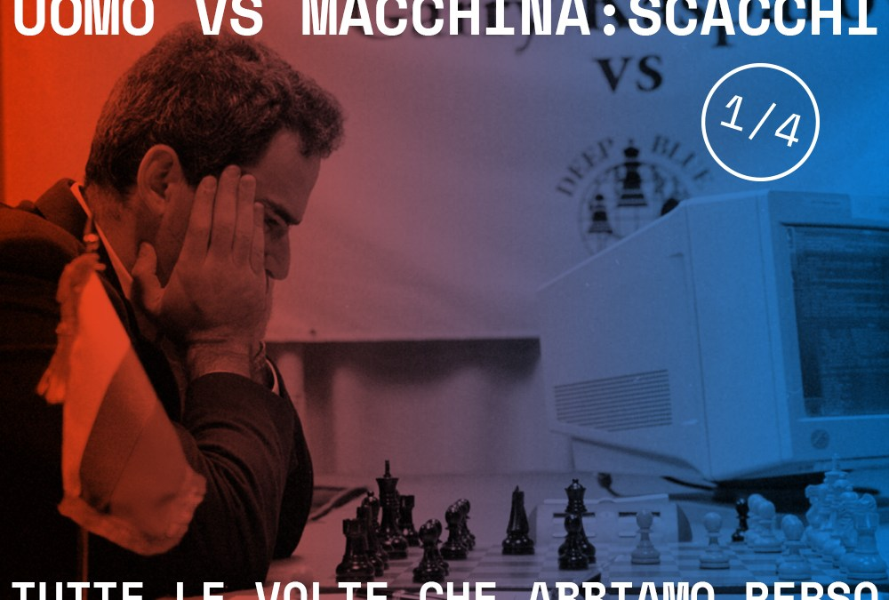Uomo vs Macchina: Kasparov contro DeepBlue