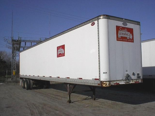 STORAGE VAN TRAILERS