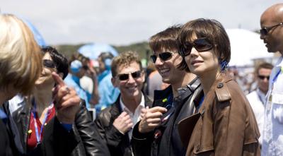 Miscavige a spasso con Tom Cruise il 20 luglio 2008