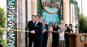 Mr. Miscavige led the ribbon cutting ceremony, joined by Church executives and special guests, to officially open the doors of the Nashville Church of Scientology & Celebrity Centre to all.