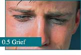 How eyes look at Grief