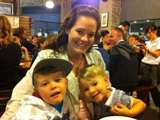 Scientologist Hayley Wuerfel & her two children