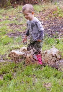 "How do you demonstrate to a child what happens when you jump in a mud puddle? Tell them, ""Don't do that, you'll get dirty,""?"