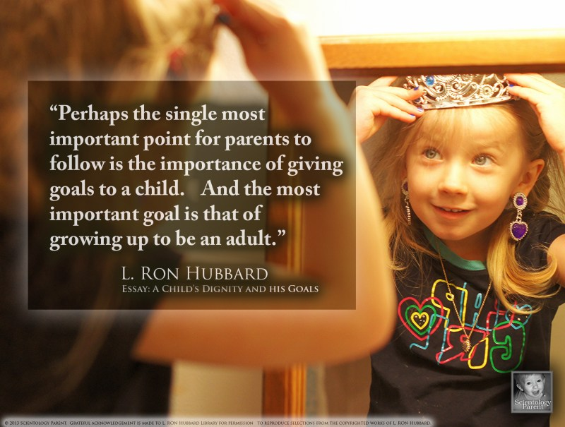 """The Goal of """"Growing Up"""""""