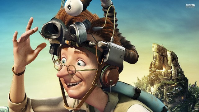 Epic - Professor Bomba's Magnifying Glass Helmet with Integrated Video Recorder