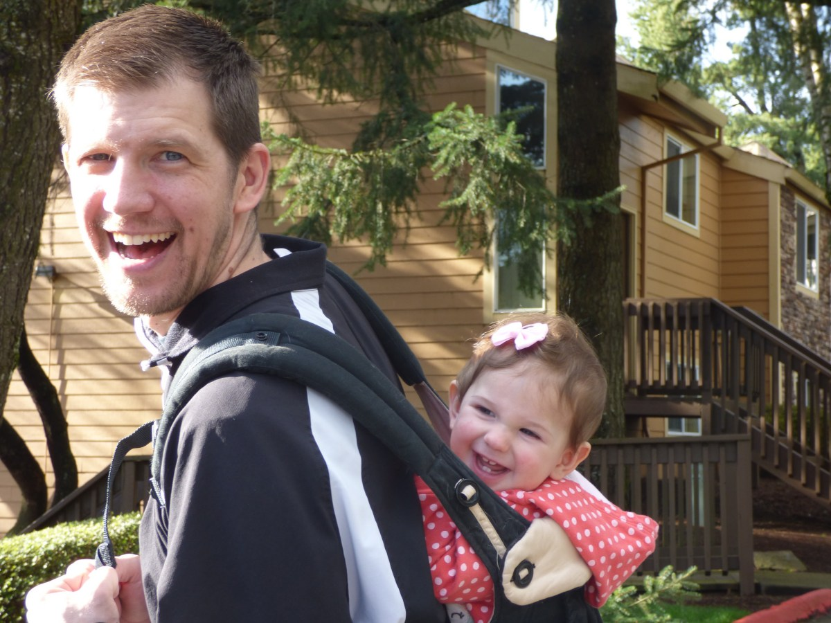 Confessions of a Babywearing Dad
