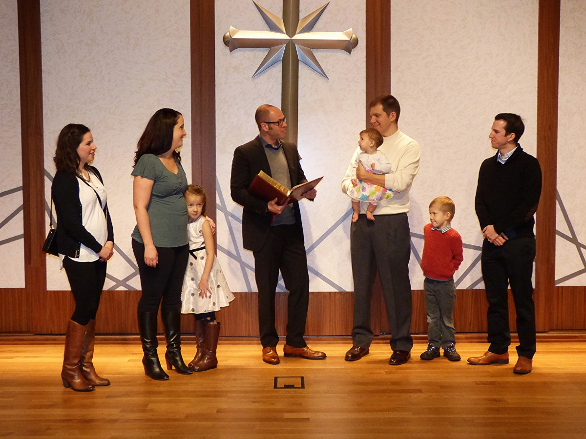 Our Baby's Naming Ceremony at the Church of Scientology Portland